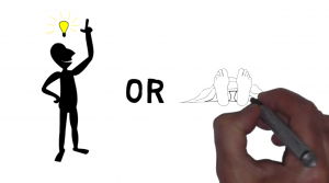 One of the stills from Whiteboard Animation for PwC Partners by CZA Studios